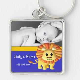 Baby Lion/Photo Keychain