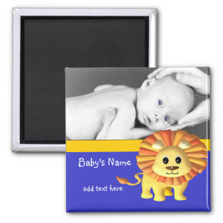Baby Lion/ Photo Magnet