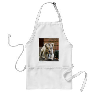 Baby lion prowler adult apron