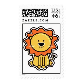 Baby Lion Sticker Postage