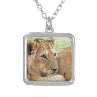 Baby Lion Young Wild Animal Necklaces