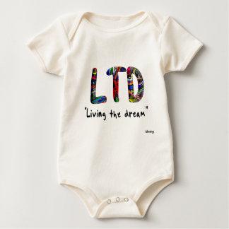 baby living the dream baby bodysuit