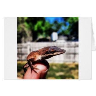 Baby Lizard Card