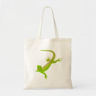 Baby Lizard Cartoon Tote Bag