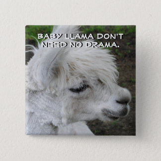 Baby Llama Don't Need No Drama Button