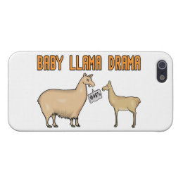 Baby Llama Drama Case For iPhone SE/5/5s
