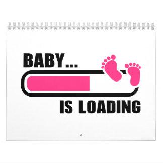 Baby loading calendar
