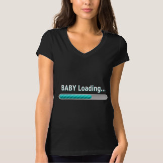 Baby Loading... Funny Pregnancy Design T-Shirt