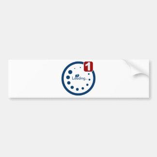 Baby Loading Plus Notification Bumper Sticker
