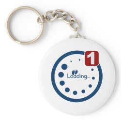 Baby Loading Plus Notification Keychains