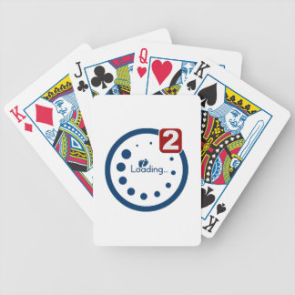 Baby Loading , Twin Notification Bicycle Playing Cards