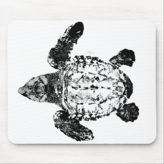 Baby Loggerhead Sea Turtle Mouse Pad