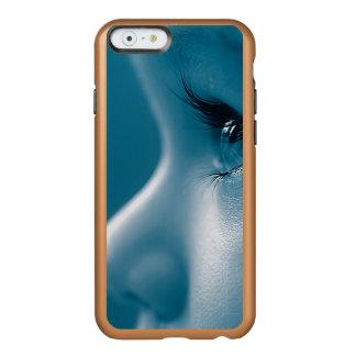 Baby Looking Child Face Eyes Eyelashes Blue Incipio Feather Shine iPhone 6 Case
