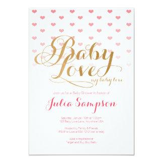 Baby Love Baby Shower Invitation