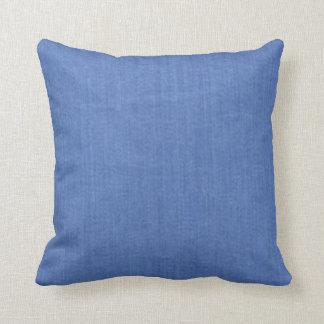 Baby Love Blue Throw Pillows