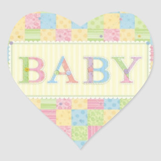 BABY LOVE COLLECTION HEART STICKER