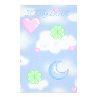 BABY LOVE COLLECTION PERSONALIZED STATIONERY