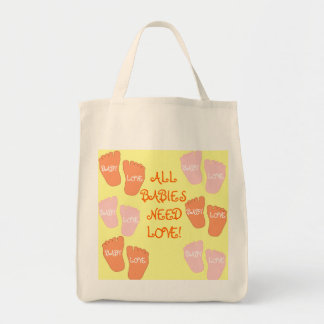 BABY LOVE COLLECTION TOTE BAG