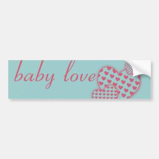 Baby Love Pink Bumper Sticker