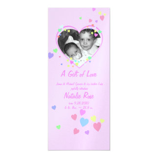 Baby Love/ Pink Card