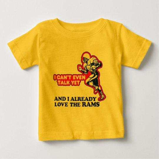 Baby Love Rams Baby T-Shirt