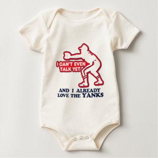 Baby Love Yanks Bodysuit