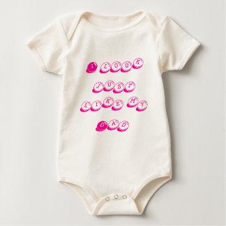 Baby loves Dady Baby Bodysuit