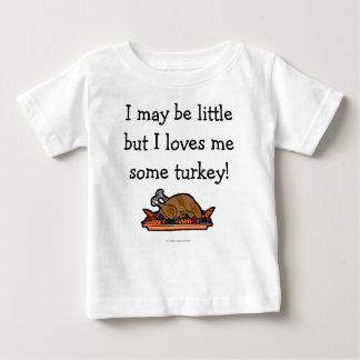 Baby Loves Turkey Baby T-Shirt