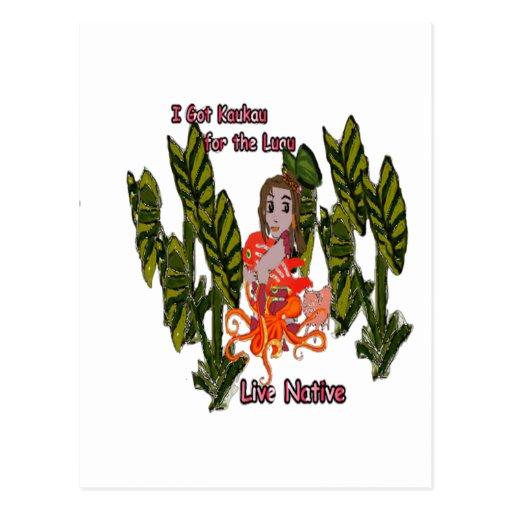 Baby Luau Postcard