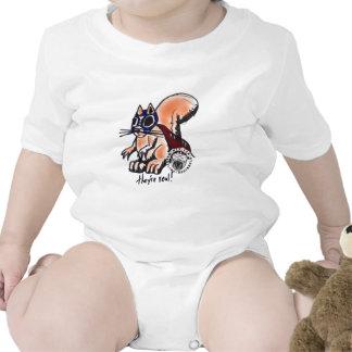 Baby Luchador Squirrel Tshirt