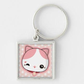 Baby Lucky Cat Keychain