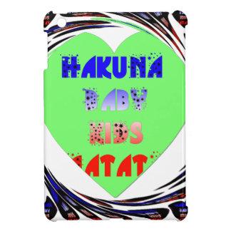 Baby Luminous Hearts Hakuna Matata Baby Kid Design iPad Mini Cases