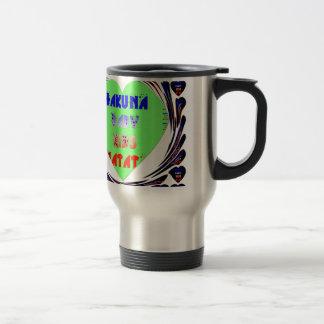 Baby Luminous Hearts Hakuna Matata Baby Kid Design Travel Mug