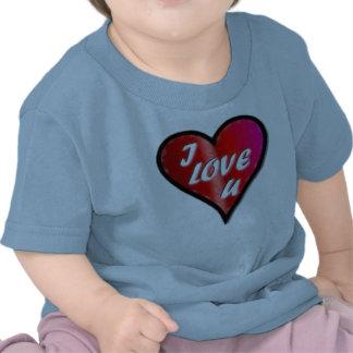 Baby luv ya shirt.