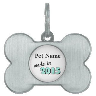 Baby Made In 2016 Pet Tag
