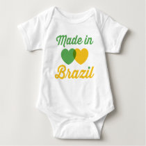 Baby Made in Brazil Baby Bodysuit
