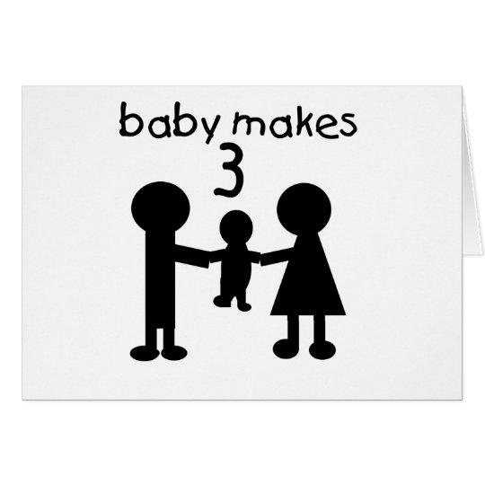 Baby Makes 3 Card