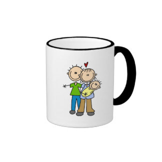 Baby Makes Three T-shirts and Gifts Coffee Mug