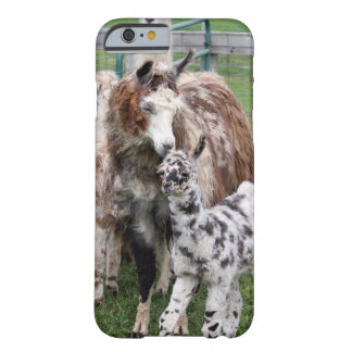 Baby & Mama Llama Kiss Barely There iPhone 6 Case