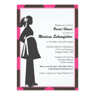 Baby Mama (Pink) Shower Invitation