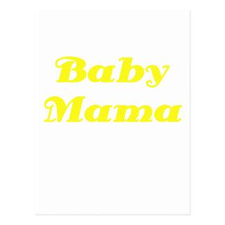 Baby Mama Postcard