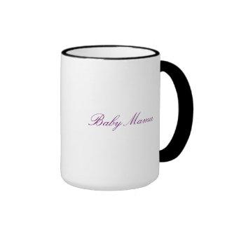 Baby mama ringer mug