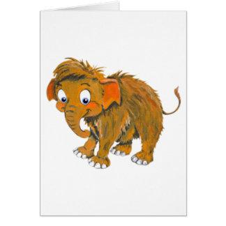Baby Mammoth Card