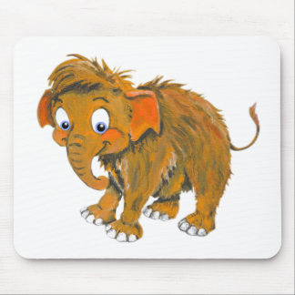 Baby Mammoth Mouse Pad