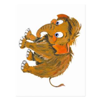 Baby Mammoth Postcard