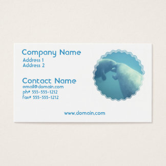 Baby Manatees Business Card