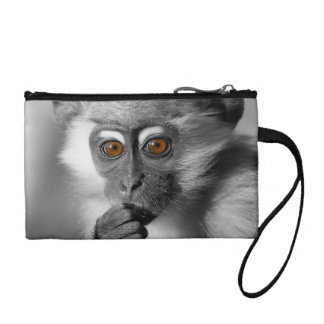 Baby Mangabey Monkey Coin Wallet