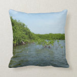 Baby Mangrove Trees Tropical Nature Pillow