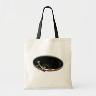 Baby Mantid on a Dime Tote Bag