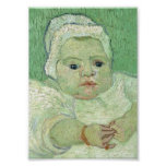 Baby Marcelle Roulin, Vincent van Gogh Poster
